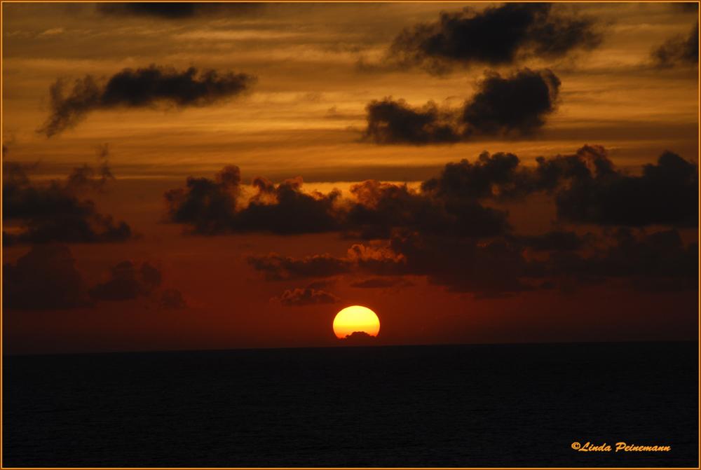 Sonnenuntergang über Puntarenas - Costa Rica