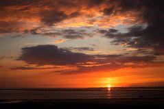 Sonnenuntergang über Sylt...