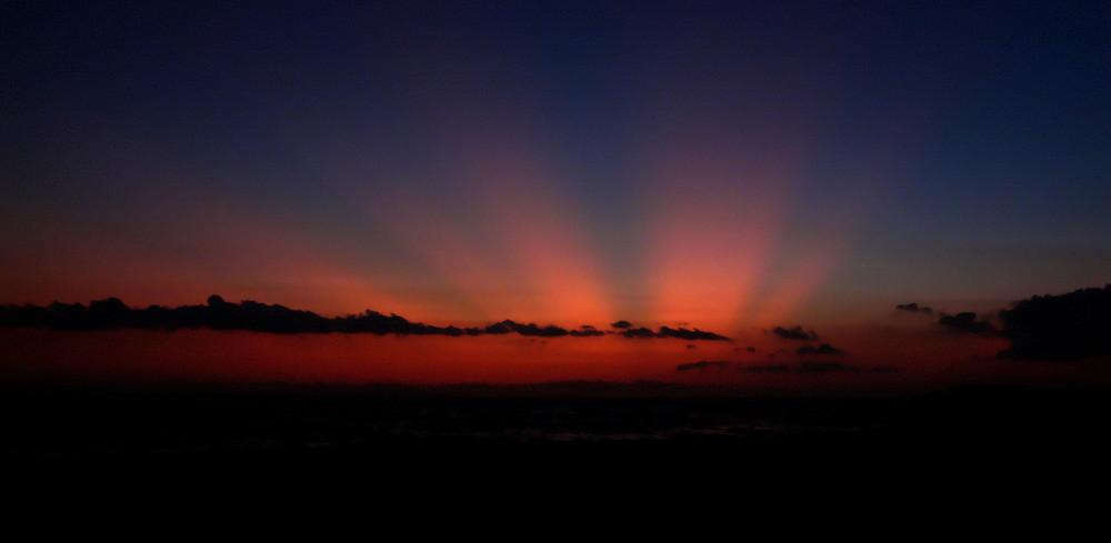 Sonnenuntergang über Zakintos