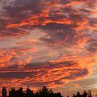 Sonnenuntergang über Zementwerk 2