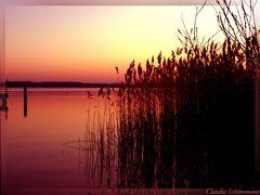 Sonnenuntergang Ukermark