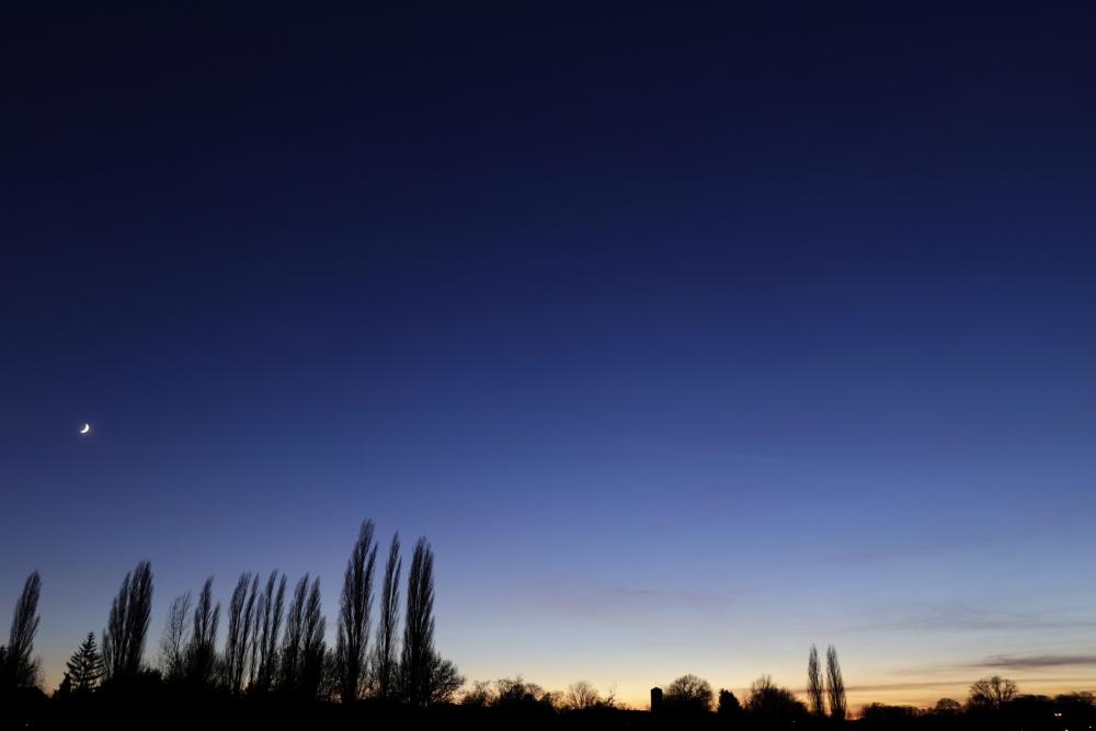 Sonnenuntergang und Mond am 18. Dezember - Bild 7