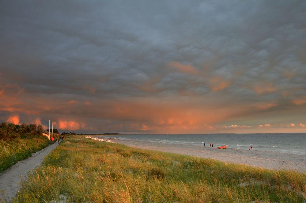 Sonnenuntergang Vitte 12.Juli