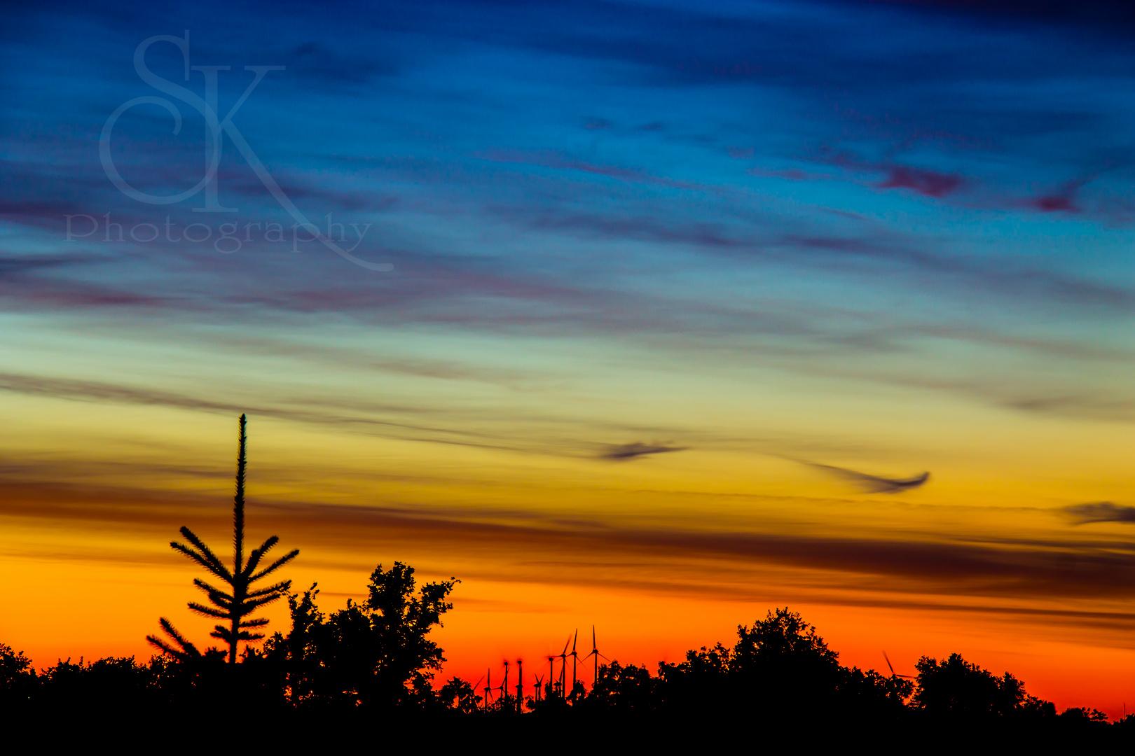 Sonnenuntergang vom 09.08.2013