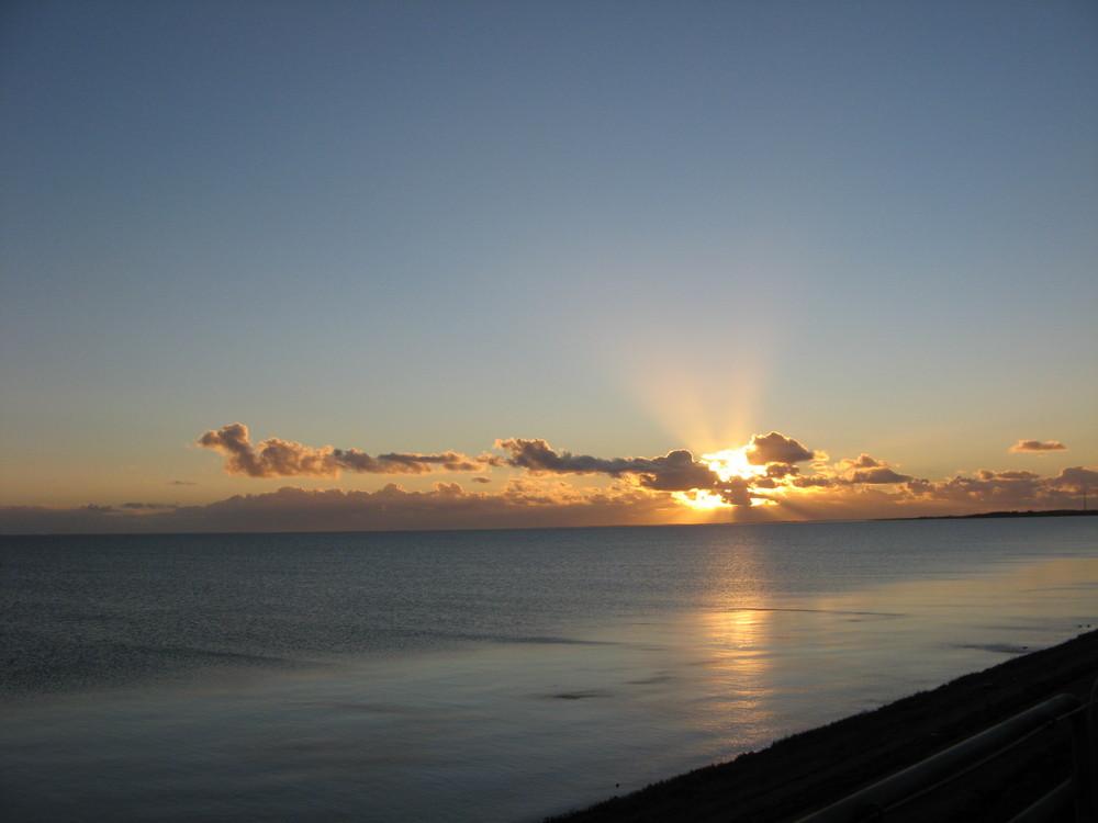 ...... Sonnenuntergang vom