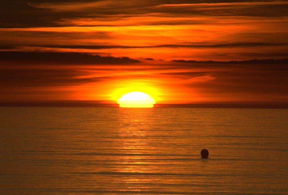 Sonnenuntergang vom 16 Juni 2010