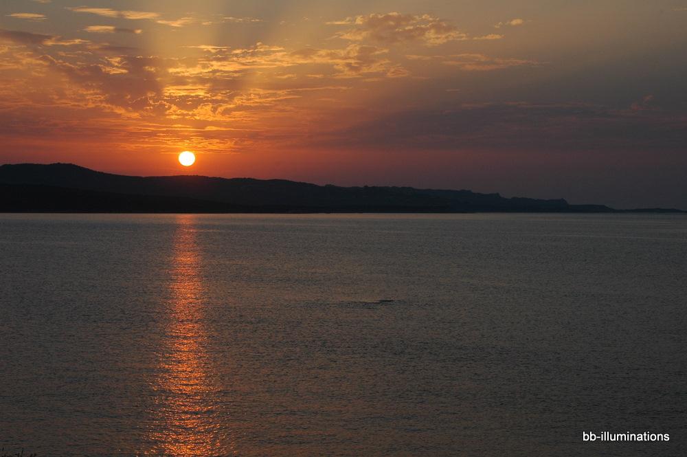 Sonnenuntergang vor Isola dei Gabiani