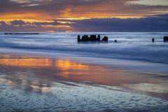 Sonnenuntergang vor Kampen auf Sylt