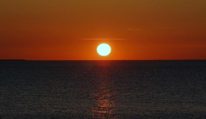 Sonnenuntergang vor Nordstrand