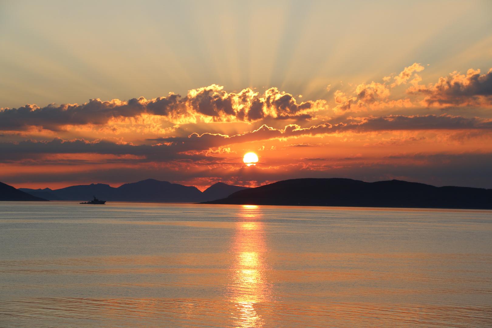Sonnenuntergang - war dies der Schönste?