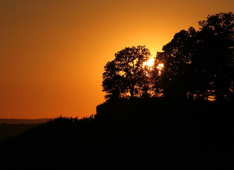 Sonnenuntergang Wartkopf Beilstein