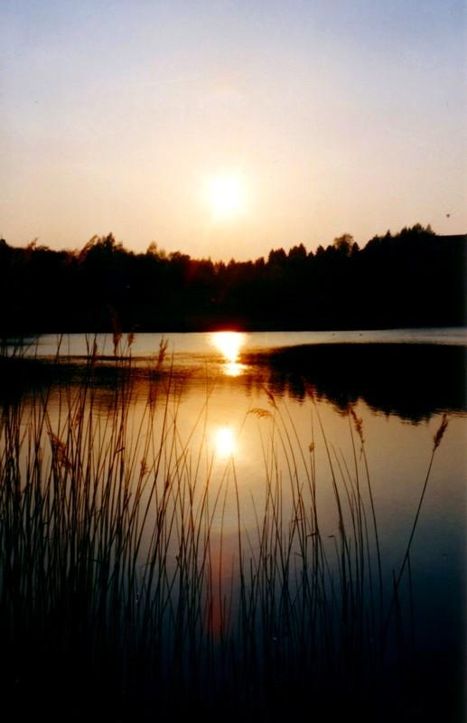 Sonnenuntergang x 3