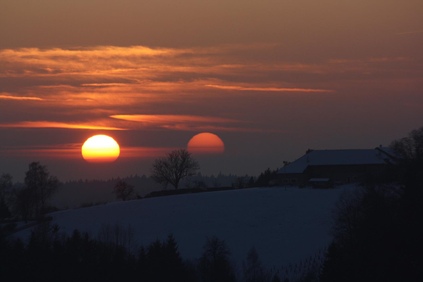 Sonnenuntergang x2