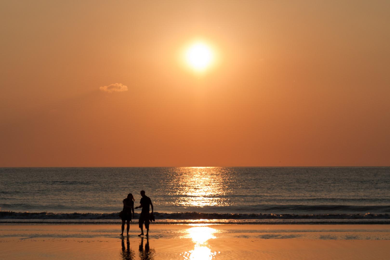 Sonnenuntergang Zandvoort