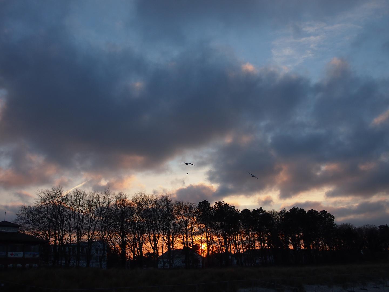 Sonnenuntergang Zingst