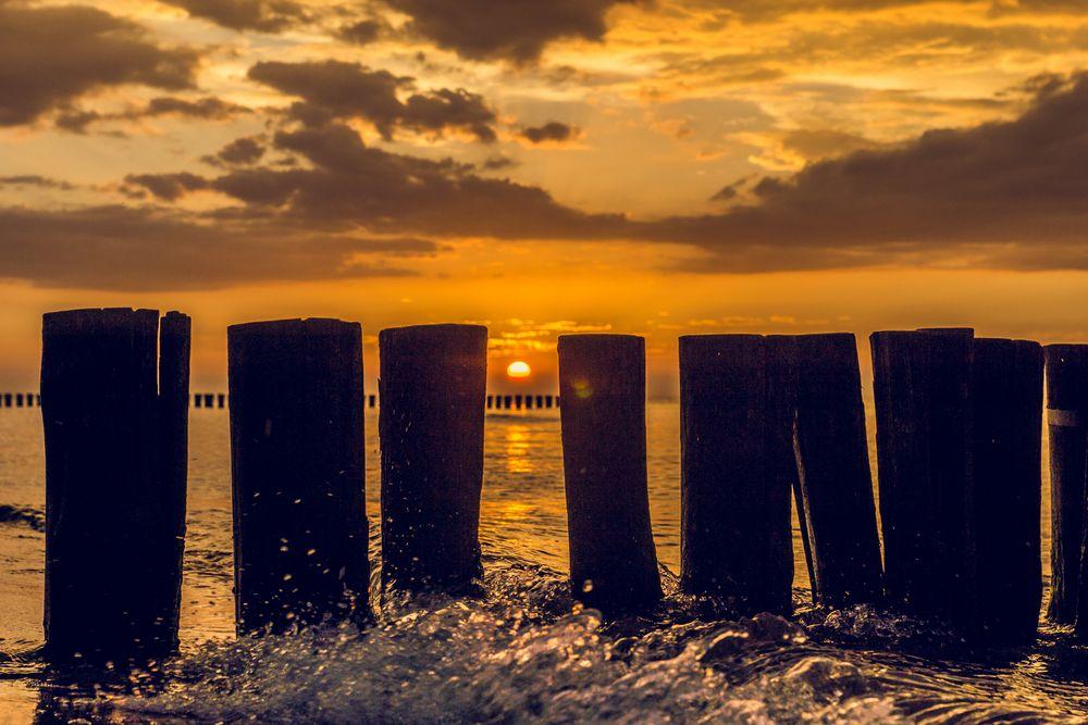 Sonnenuntergang Zingst#1