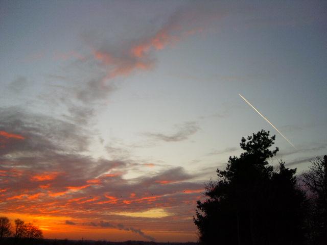 Sonnenuntergang zum Träumen ...