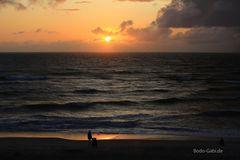 Sonnenuntergangs-Shooting