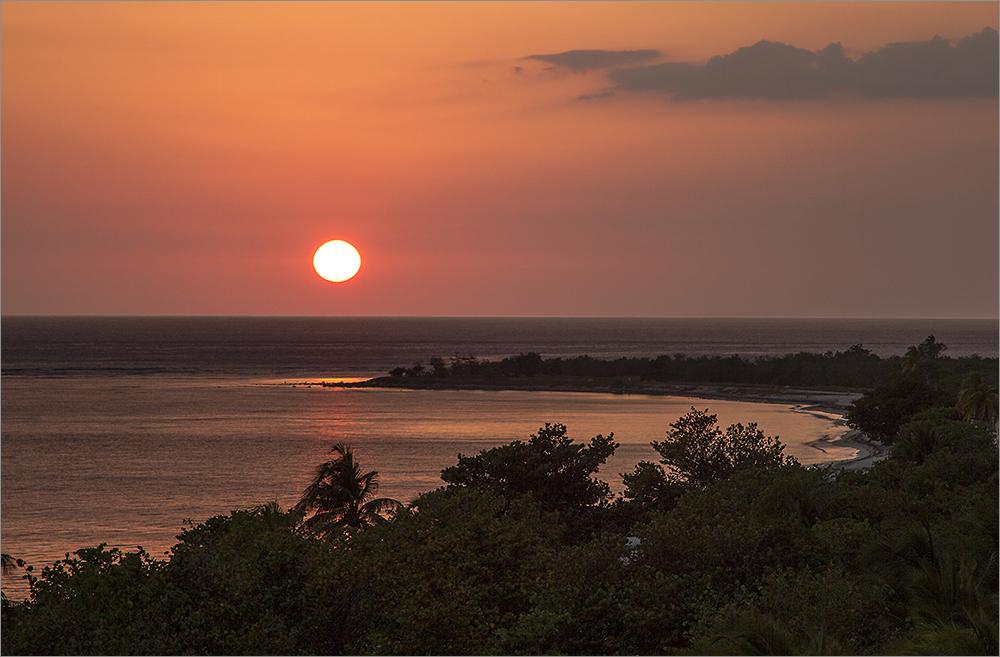 Sonnenunterganstimmung in Trinidad 2