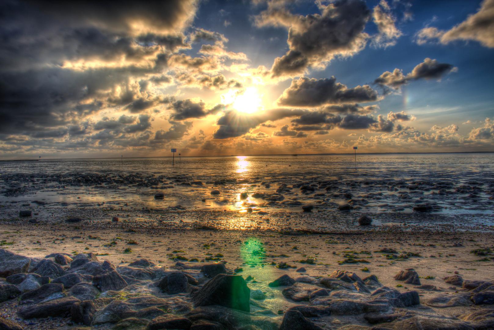 Sonneruntergang Ostfriesland