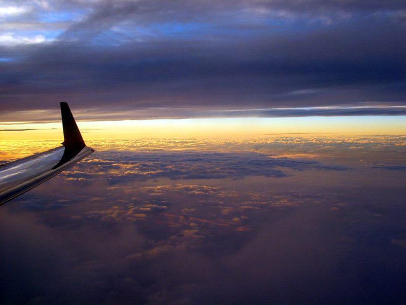 Sonneuntergang über Washington
