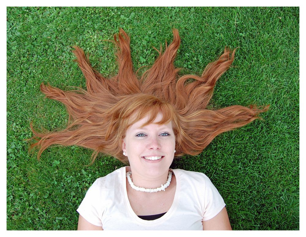 Sonnige Haarpracht