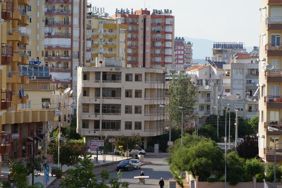 Sonniger Morgen in Antalya