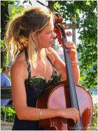sonniges Cello