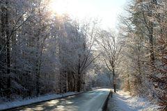 sonniges Winterwetter