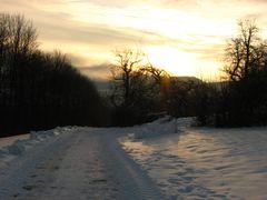 Sonntag morgen, -12°C, sonnig...
