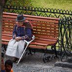 Sonntagnachmittag auf der Plaza Mayor, Ayacucho