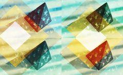 Sonntags abstrakt- Pyramide