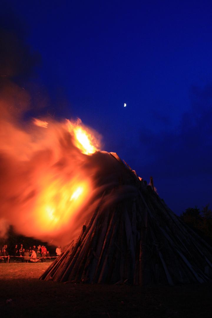 Sonnwendfeuer in Adelberg