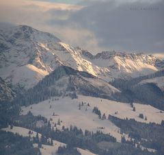 """""""Sonthofener Berge 7 Driving Home For Christmas"""""""
