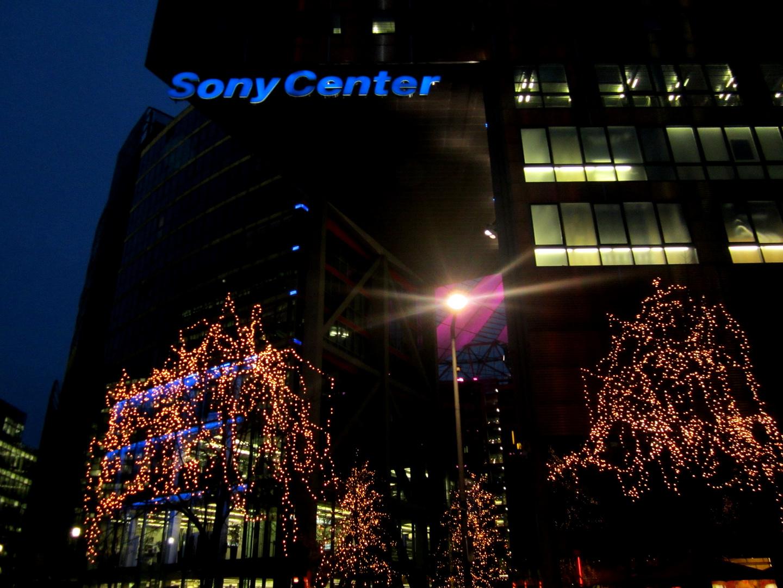 Sony Center - Lights