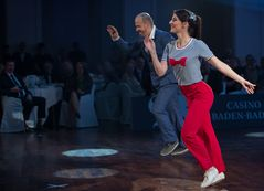 Sophie Alaf&Thomas Audon beim Boogie Woogie