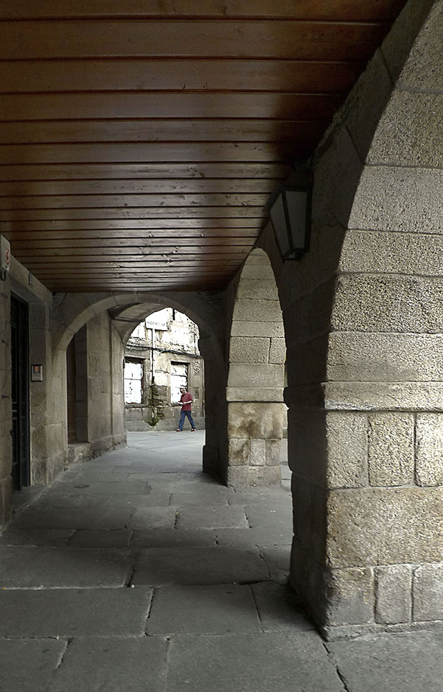Soportales (en la Plaza del Campo-Lugo)