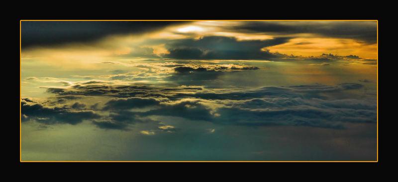 sopra le nuvole.....