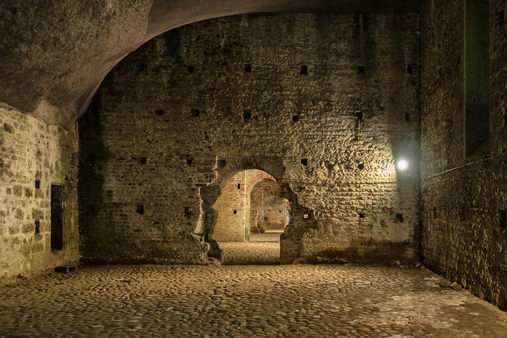 Sotterranei del castello Visconteo, Trezzo d'Adda