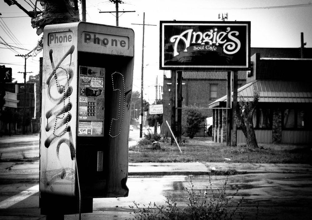 Soul Cafe... Corner Phone Booth