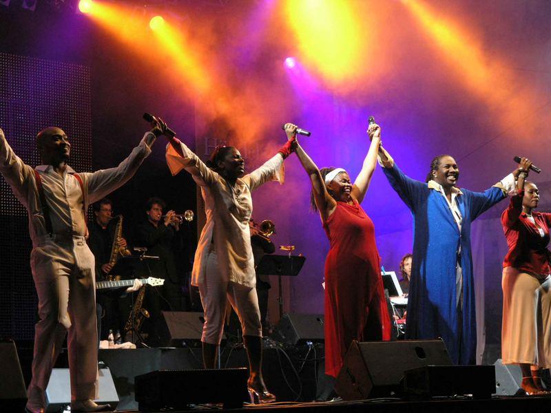 Soul Celebration  bei Händels Open in Halle/S