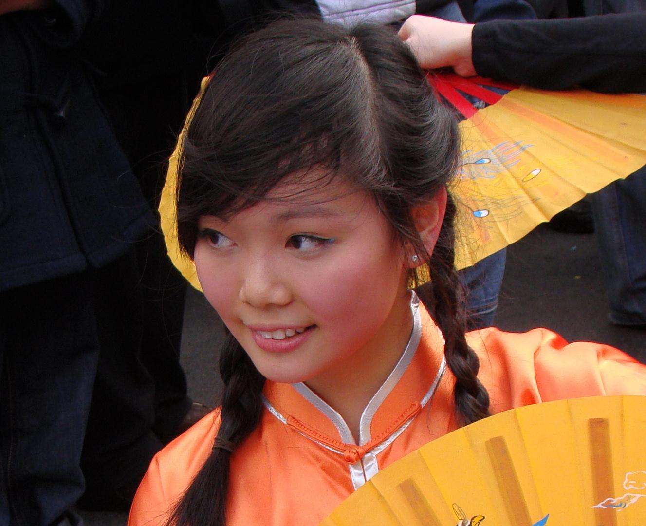 Sourire de Chine à Paris