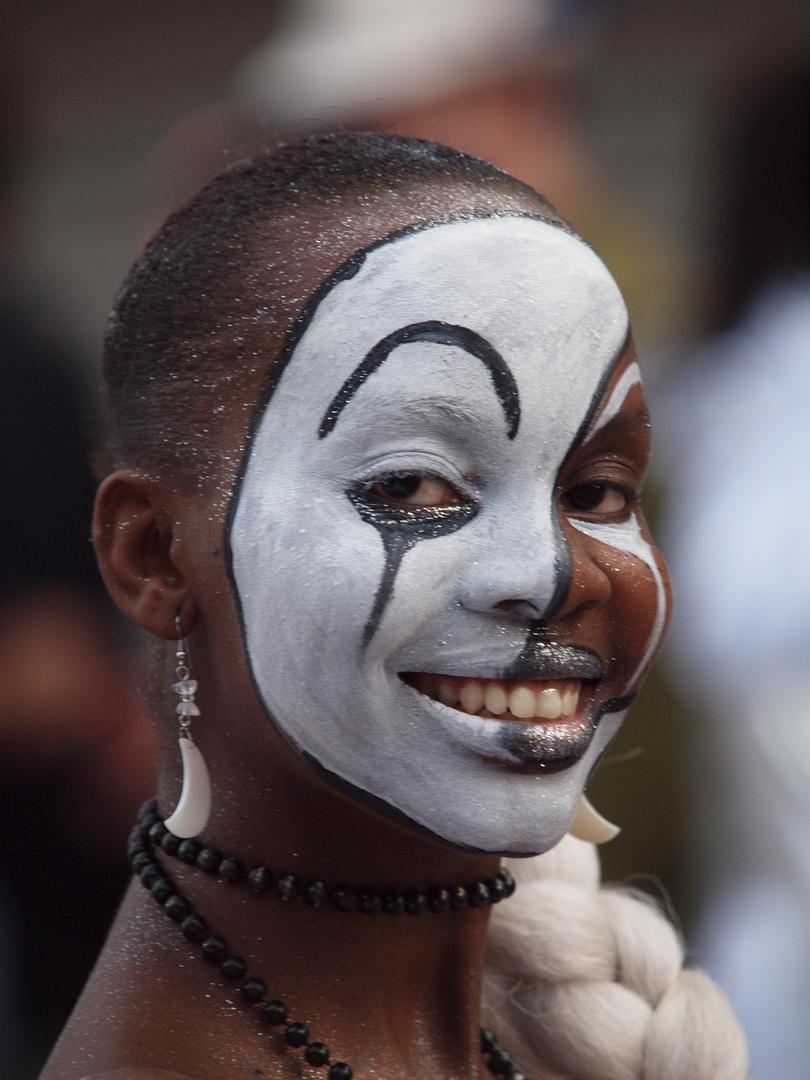 sourires de carnaval guyanais