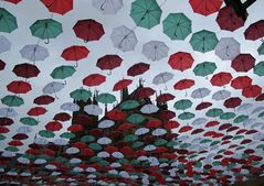 Sous le filtre des parapluies