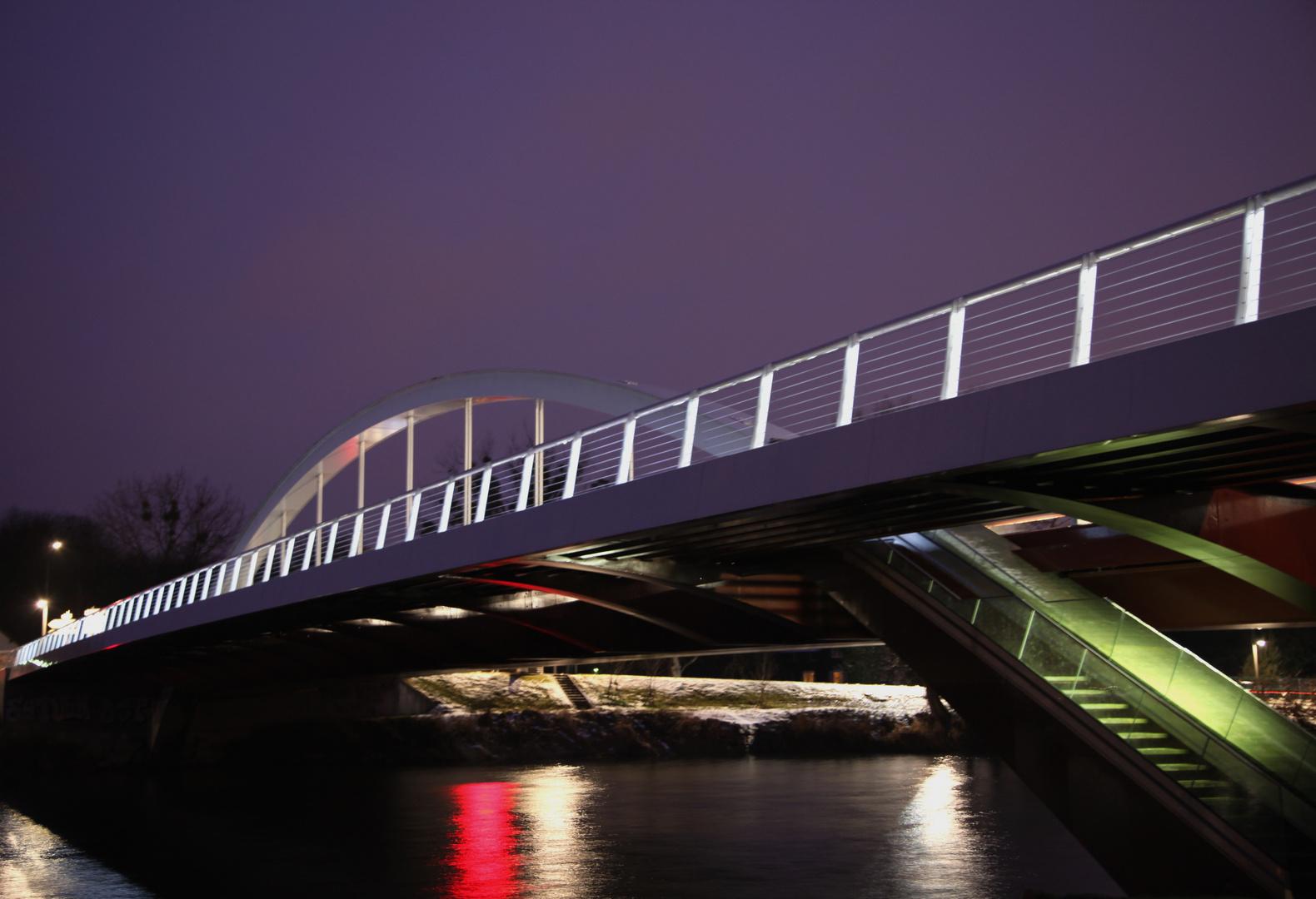 Sous le pont....