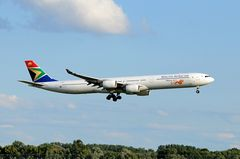 South African Airways Airbus A340-642 ZS-SNG