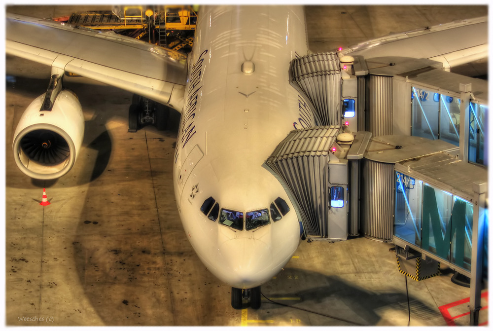 South African Airways HDR