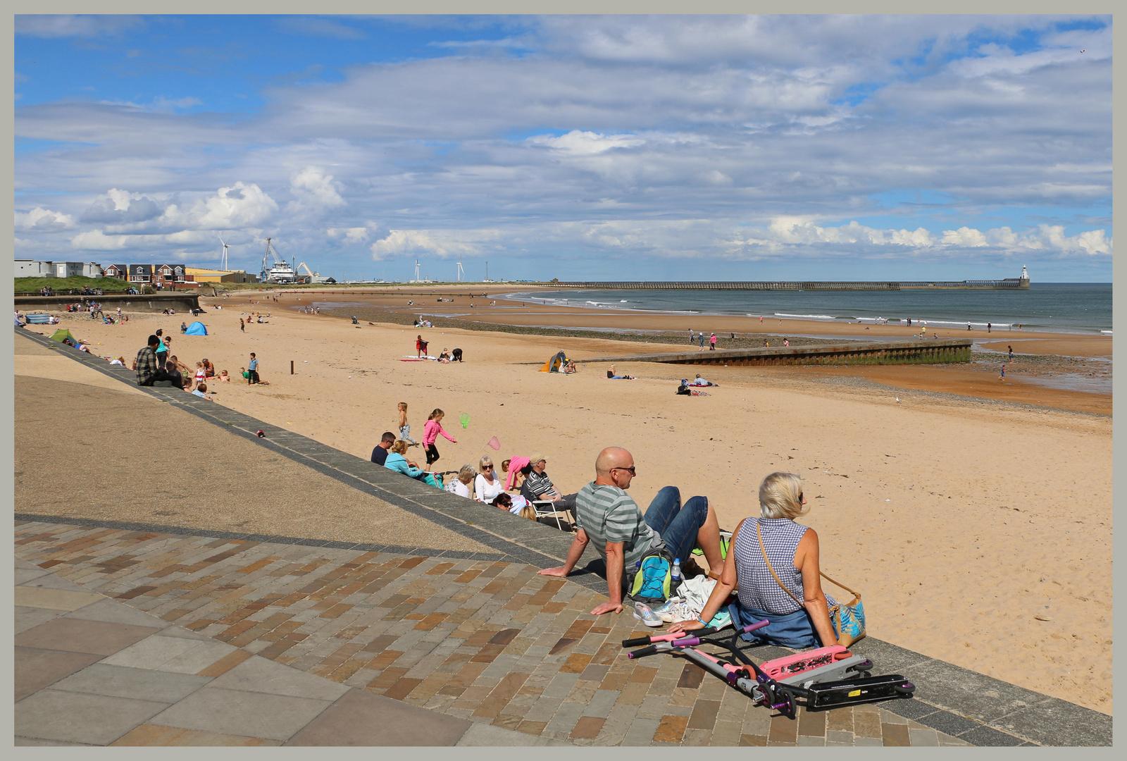 south beach Blyth Northumberland 24