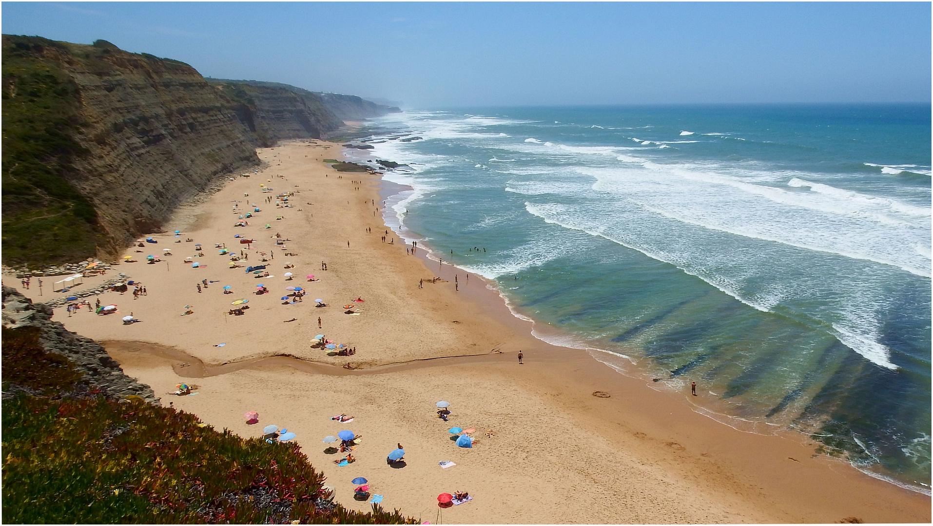 South part of Magoito beach.