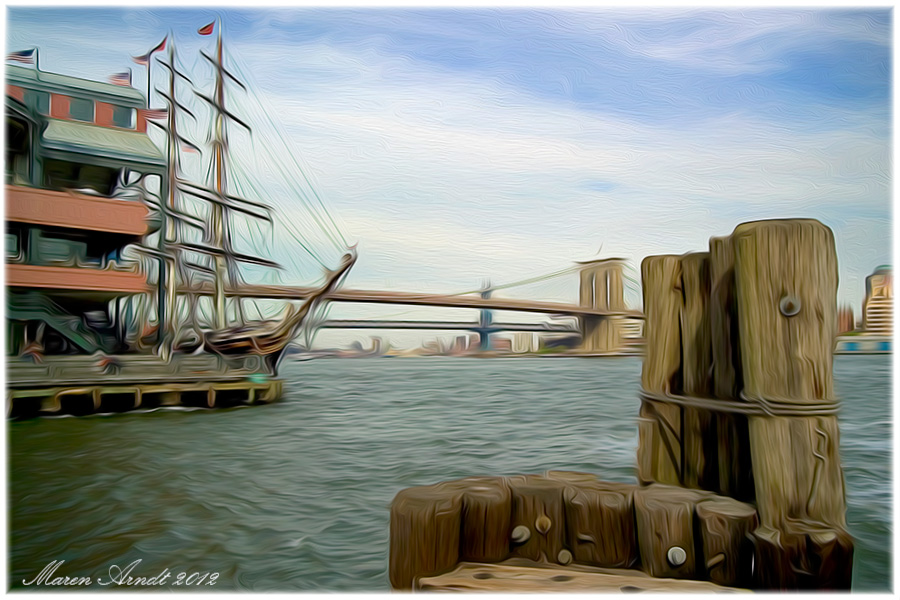 South Street Seaport Historic District - N.Y.